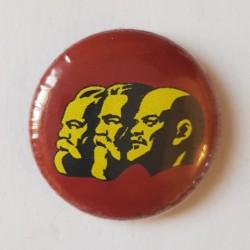 Chapa Marx, Engels y Lenin