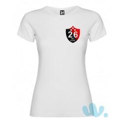 Camiseta mujer Escudo...