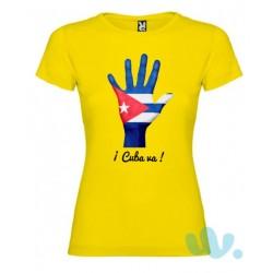 Camiseta mujer ¡Cuba va!