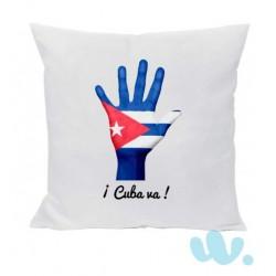 Cojín ¡ Cuba va !