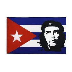 Bandera Cuba - Che Guevara